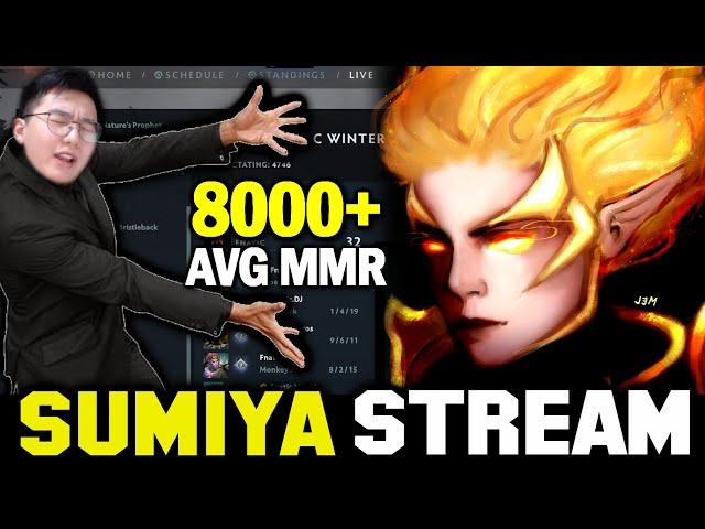 Can SUMIYA survive on CN Top Ranked Game | Sumiya Invoker Stream Moment #1989