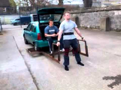 Lifting car 15 reps