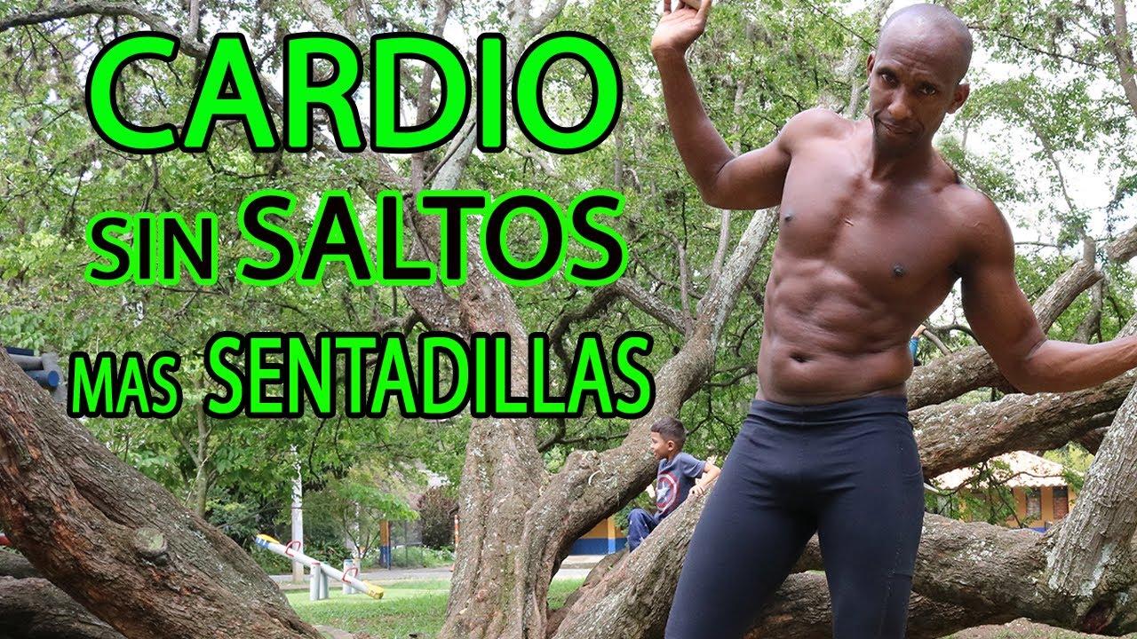 CARDIO SIN SALTOS 😘❤️️ MAS SENTADILLAS ❤️️😘 PERDER PESO RÁPIDO Y SIN IMPACTO  EN 30 MINUTOS