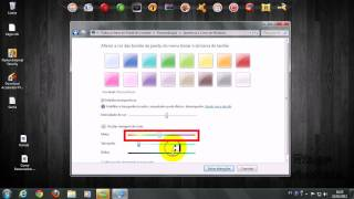 como mudar a cor da barra de Tarefas do Windows 7 Ultimate