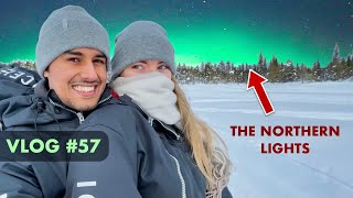 Seeing northern lights for the first time in our life | Dhruv Rathee Vlogs