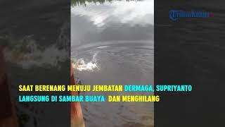 VIDEO Pencarian Pawang Yang Disambar Buaya di Muara Jawa Turunkan 4 Pawang