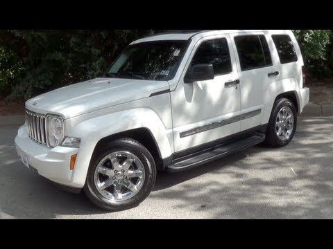2009 Jeep Liberty Startup, Exhaust, Interior U0026 Exterior Tour   YouTube