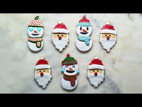 Very Merry Emoji Cookies