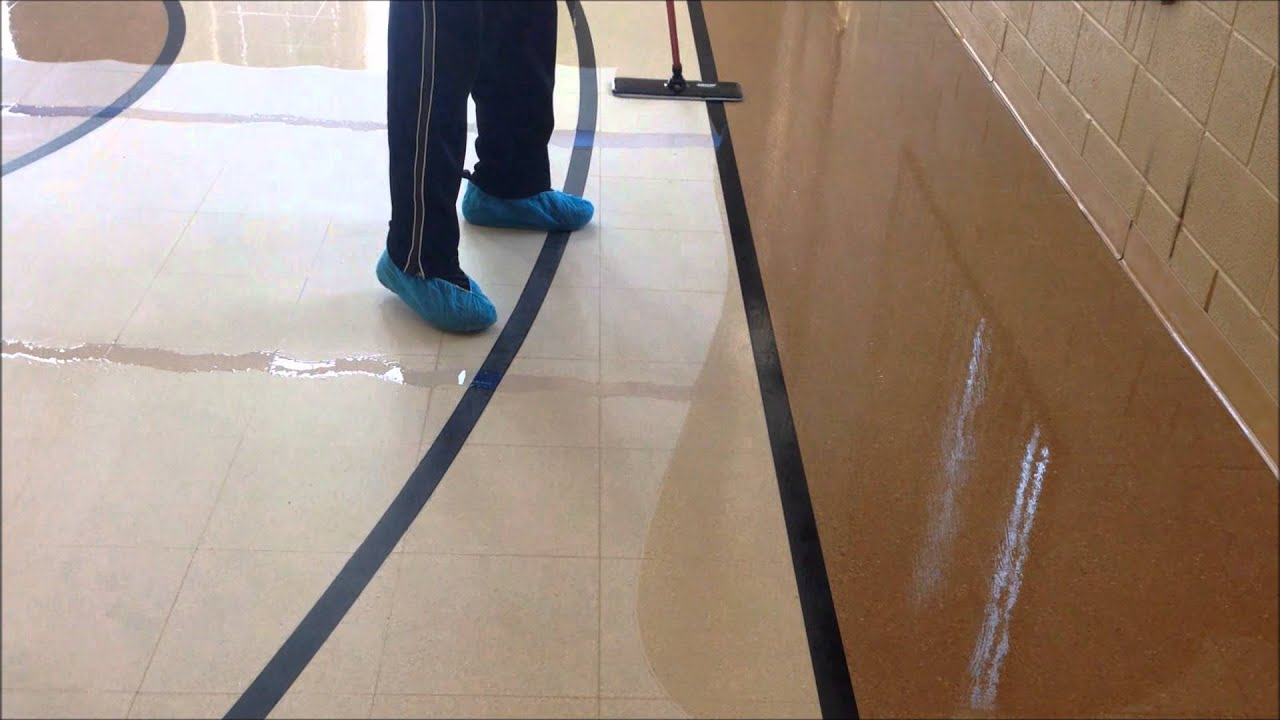 Floor Stripping Floor Waxing Floor Buffing Floor