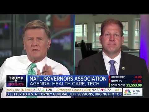 New Hampshire Gov. Chris Sununu on CNBC Squawk Box