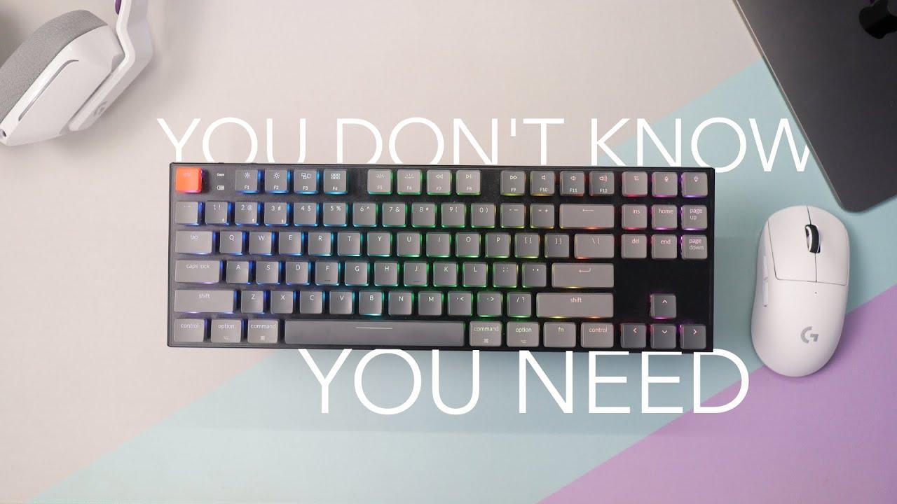 Keyboard Yang Sangat Mungkin Kamu Butuhkan - Keychron K1