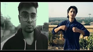 Pakistani Rapper Usman brb VS Indian Rapper Yungsta , Rap Battle 2017