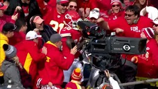 Tyreek Hill TD & Funny Cameraman Celebration | Cardinals vs. Chiefs | NFL