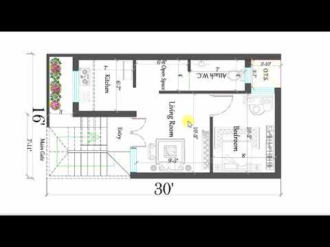 16x30 ft BEST SMALL HOUSE PLAN on 20x25 house plans, 14x32 house plans, 30 x 50 house plans, 20x28 house plans, 18x40 house plans, 8x12 house plans, 16x36 house plans, 12x28 house plans, 18x28 house plans, 8x24 house plans, 22x28 house plans, simple small house floor plans, 12x18 house plans, 14x36 house plans, 10x14 house plans, 22x34 house plans, 16x26 house plans, 18x18 house plans, 14x18 house plans, luxury tiny house plans,