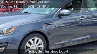 2015 Kia Optima EX 4dr Sedan for sale in Sebring, FL 33870 a
