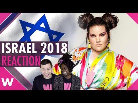 "Israel   Eurovision 2018 reaction   Netta Barzilai ""Toy"""