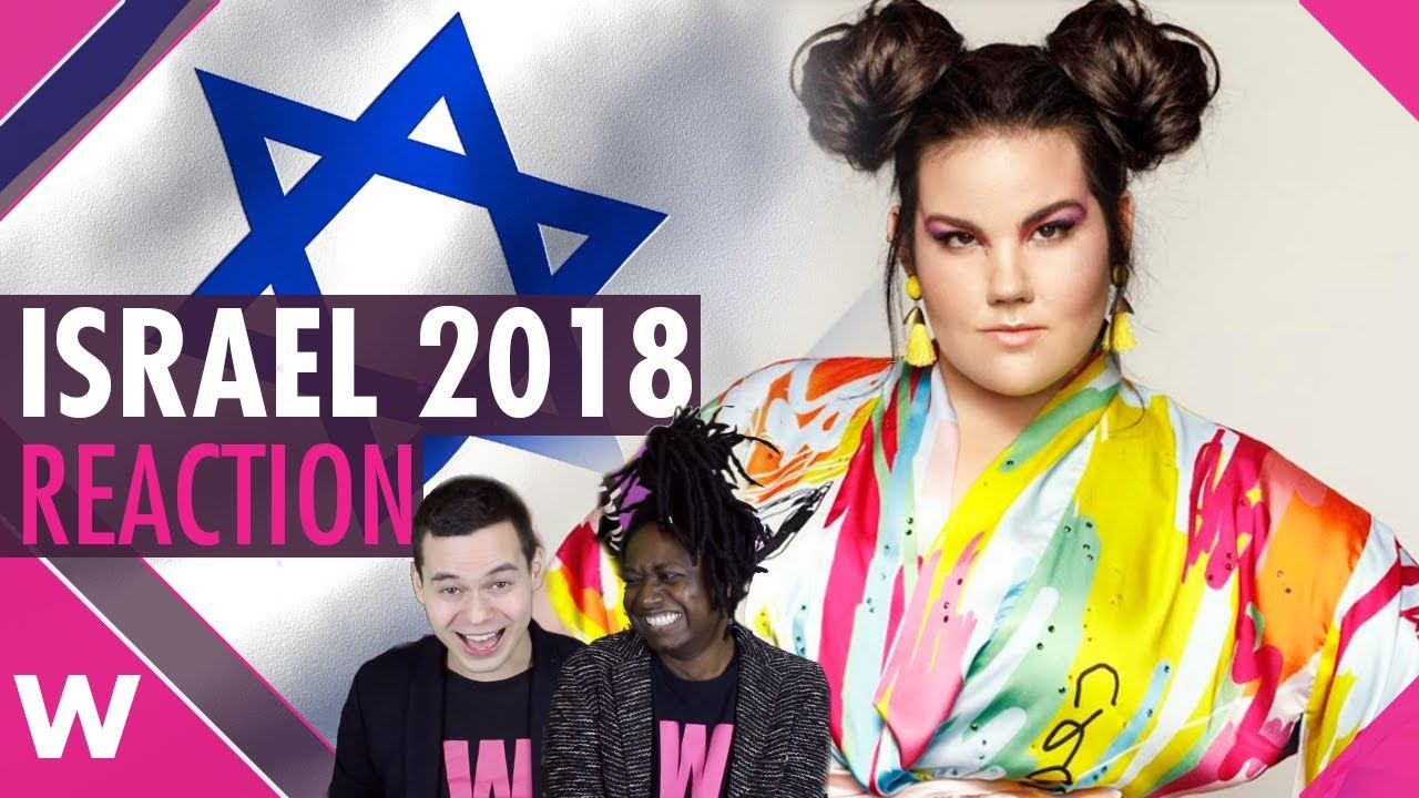 Israel Eurovision 2018 Reaction Netta Barzilai Toy