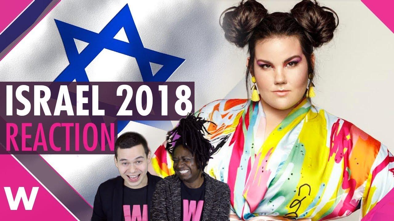 Israel Eurovision 2018 Reaction Netta Barzilai Toy