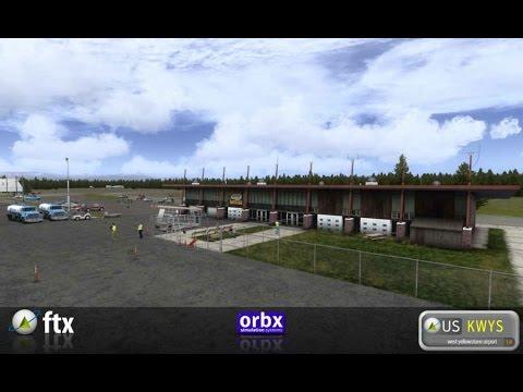 FSX | ORBX West Yellowstone Airport| HD