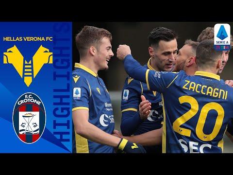Hellas Verona 2-1 Crotone | L' Hellas ora sogna l'Europa | Serie A TIM