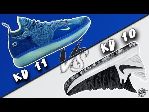 Nike KD 11 vs KD 10!