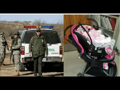 BORDER PATROL MAKES SCARY DISCOVERY IN BABY STROLLER ILLEGAL MOM CAUGHT CARRYING
