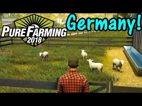 Let's Play Pure Farming 2018 #1: Germany Map!