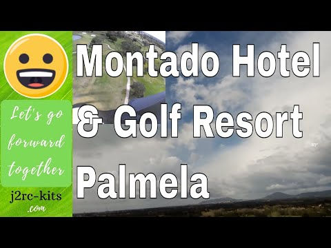 Parrot Disco (Places to visit...) - Flight over the Golf of Hotel Montado...  Palmela, Portugal