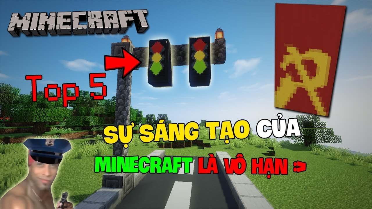 Top 5 Điều Cho Ta Thấy Sự Sáng Tạo Của Minecraft Là Vô Hạn!! – Cờ Ngôi Sao Tổ Quốc
