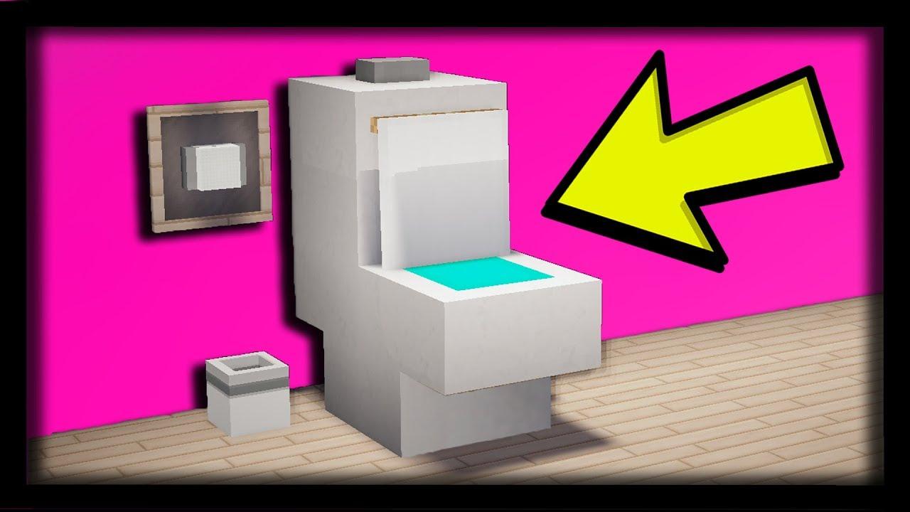 comment faire des toilettes ultra r aliste dans minecraft. Black Bedroom Furniture Sets. Home Design Ideas