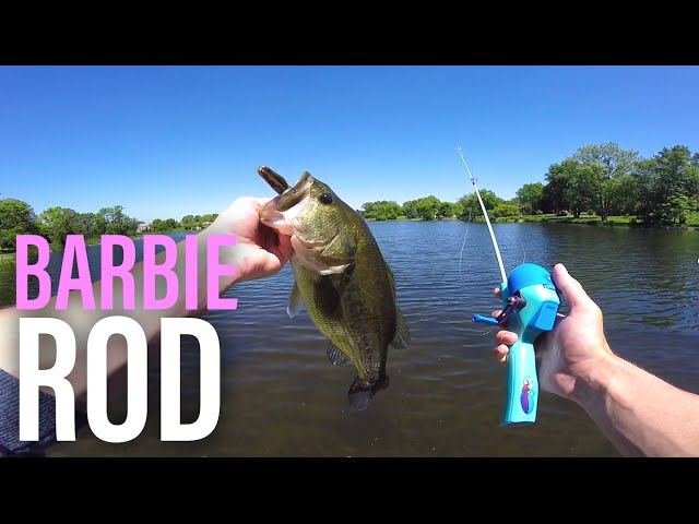 Barbie Rod Bass Fishing Challenge -- MTB Pro Edition