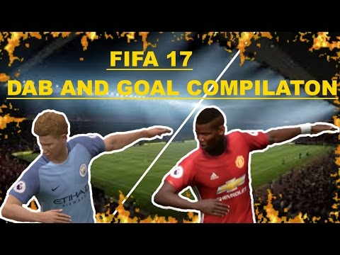 FIFA 17 | DAB (I AM THE ONE) COMPILATION | Goal 'n' Dab | MoreThanFifa