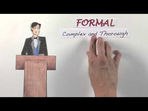 Formal vs Informal Writing: What