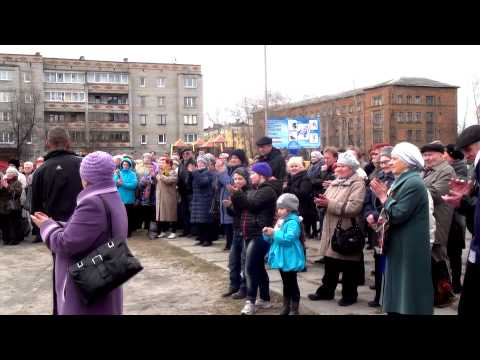 Народный митинг в Медвежьегорске