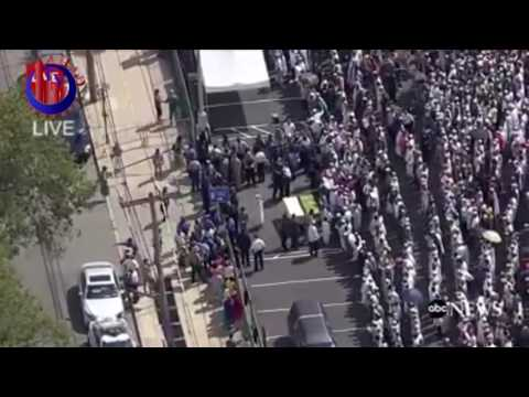 Islamic Burial Muslim Funeral Imam Shot New York Mayor NYPD Islamophobia AHAD TV LIVE