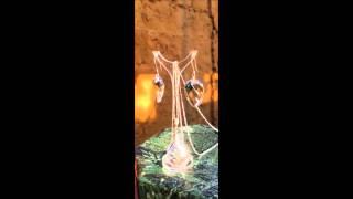 Swarovski Elements Twist Pendant 18mm