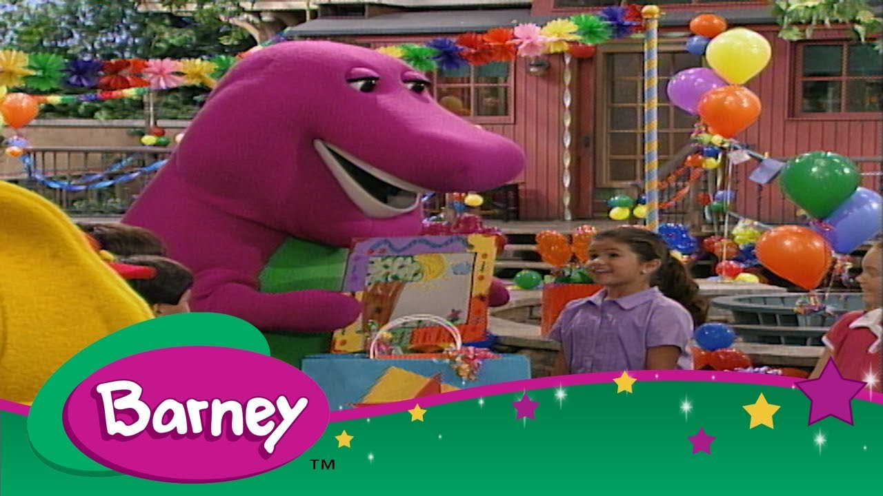 Barney Sing With Selena Gomez We Are Best Friends Youtube