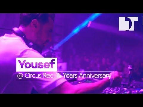 Yousef at Circus Records 15 Years Anniversary, Liverpool (UK)