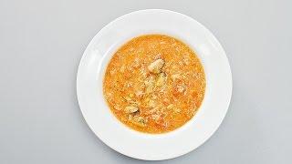 Готовим томатный суп из морепродуктов. Лучшие рецепты от wowfood.club