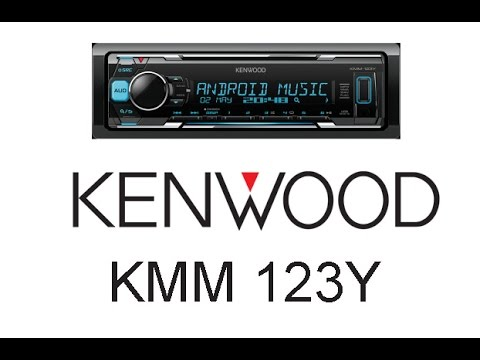 Обзор автомагнитолы Kenwood KMM 123Y