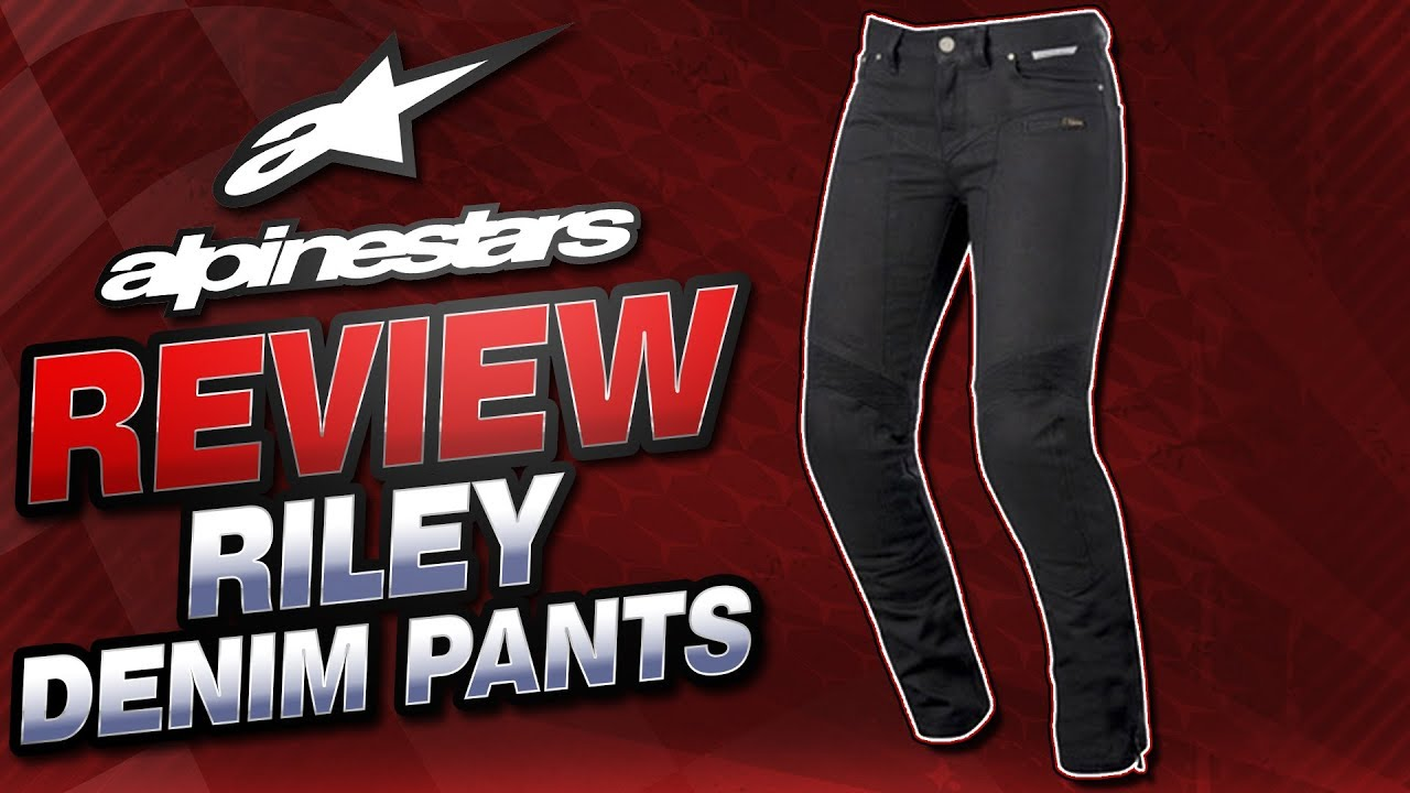 3ddee6c4a6a3 Alpinestars Womens Riley Denim Pants Review from Sportbiketrackgear ...