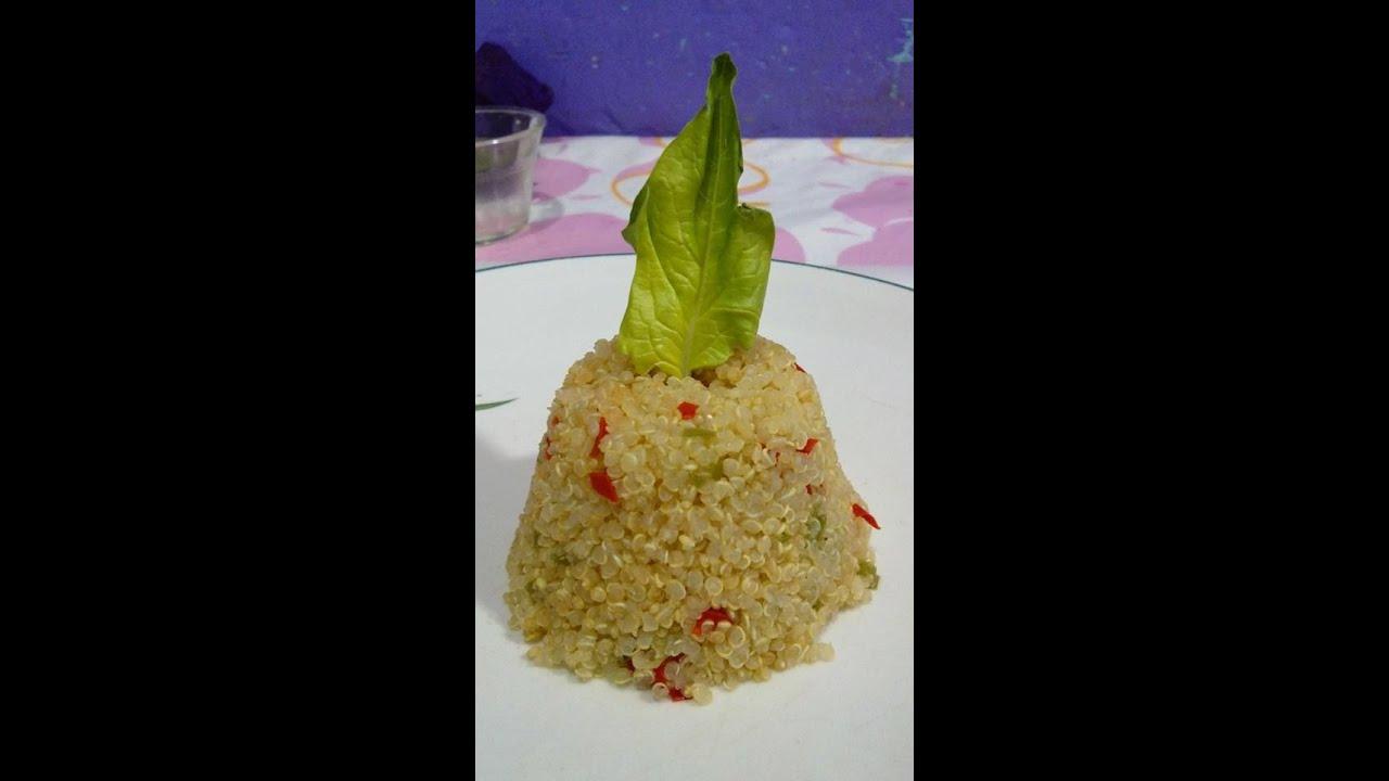 Quinoa quinua receta 73 como preparar quinoa youtube for Como cocinar quinoa