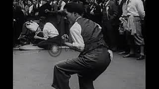 1932 Chinese Martial Art Demonstration -  Chinatown -New York