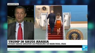 Trump's visit to Saudi Arabia   an opportunity for Trump to reassert historic links with Riyadh