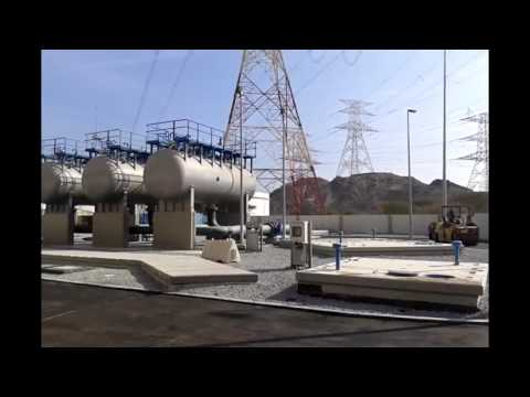 Fujairah Project - محطة ضخ مياه الفجيرة - شركة المقاولات المصرية - فرع دولة الامارت