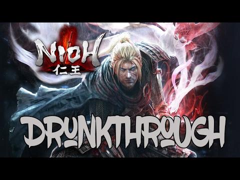 Nioh - Drunkthrough Part 3 - Habu-sake Edition!