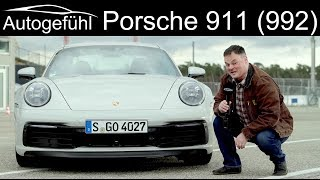 all-new Porsche 911 REVIEW with racetrack driving Hockenheimring Porsche 992 - Autogefühl
