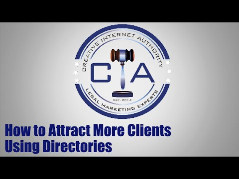 How Lawyers Can Attract More Clients Using Directories