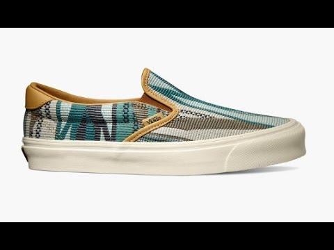 2a09306de6 Shoe Review  Vans Vault x Taka Hayashi  Chimayo  OG Slip-On 59 LX (Golden  Brown) - YouTube
