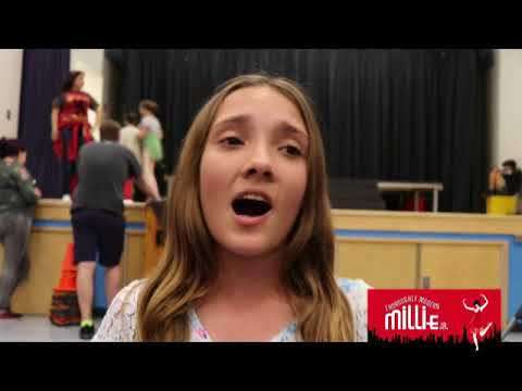 Thoroughly Modern Millie Behind The Scenes- Dana Middle School