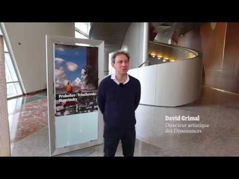 Interview de David Grimal sur la saison des Dissonances à l'Opéra de Dijon