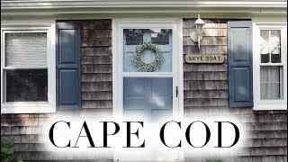 CAPE COD VLOGS 🌊 Part 1