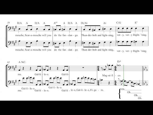 Chromatik cello-bohemian rhapsody-queen sheet music chords and ...