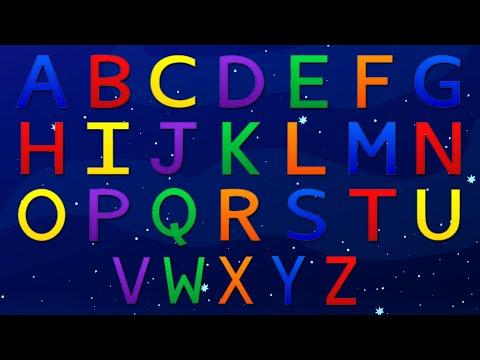 Limba engleza pentru copii - Cantecul alfabetului